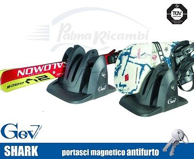 8944 Ski Roof Rack Magnetic Ant-Itheft System Gev Ok Carving 2 Pairs Di Sci O