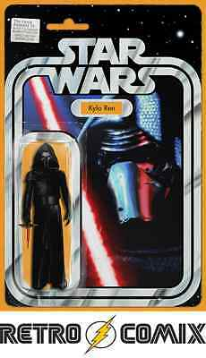 Marvel Star Wars The Force Awakens Adaptation #5 Kylo Ren Action Figure Variant
