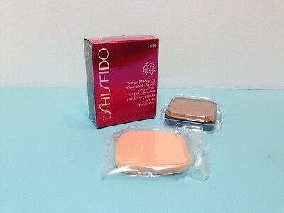 Shiseido - Sheer Matifying  Compact (Refill) - Very Deep Brown -.34 Oz Boxed