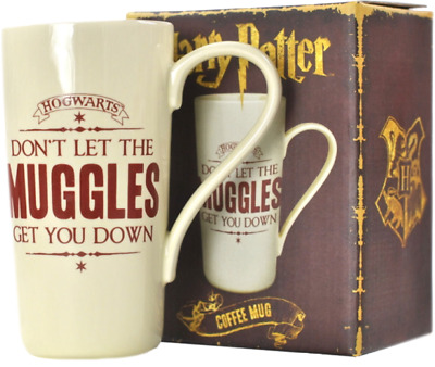 Harry Potter : HOGWARTS COFFEE MUG Don't Let the Muggles get you Down