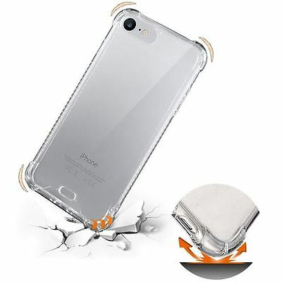 For Apple iPhone 8 7 6 /8 7 6 Plus Soft Silicon Case Cover Bumper Clear & Color