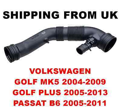 Air Filter Intake Pipe Hose Vw Golf Mk5 Plus Passat B6 1.6 75Kw 102Hp 1K0129684