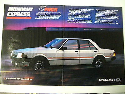 Ford Xe Falcon S-Pack 2 Page Colour Magazine Advertisement