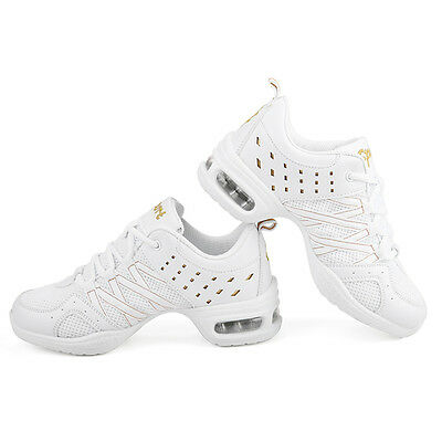 Ladies Dancing Shoes Hip Hop Jazz Gymnastic Sports Wear Trainer Comfort Sneakers