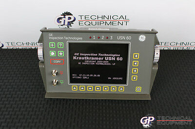 Square Wave GE Inspection Krautkramer USN 60 Ultrasonic Flaw Detector NDT USN60