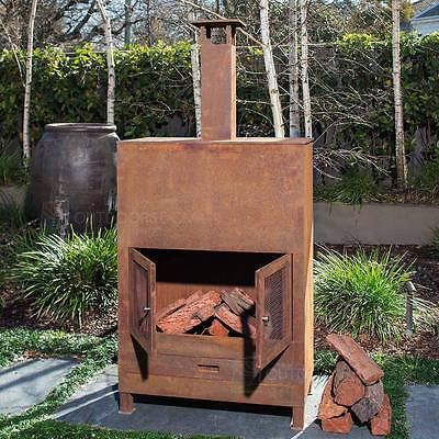 Charmate Rustic Style Steel Fireplace EX491024