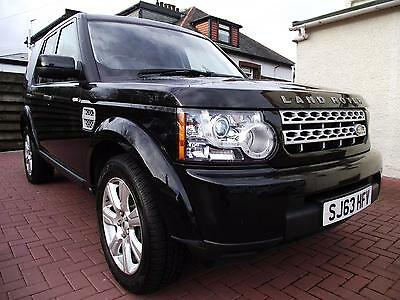 2013 Land Rover Discovery 4 SDV6 GS Diesel black Automatic