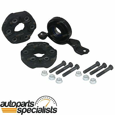 Front + Rear Tailshaft Couplings + Centre Bearing Commodore VX VY VZ Ute V6 Auto