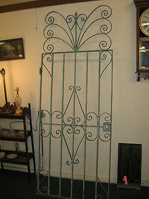 Victorian Style Old Iron Gate
