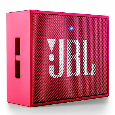 JBL GO Portable Rechargeable Wireless Bluetooth Speaker Cell Mobile Devices PINK