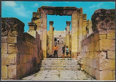Jordanien Jordan used Post Card Postkarte Churches Area Jarash [cm535]