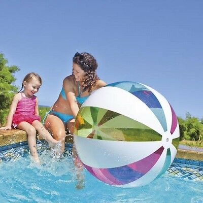 "Giant Intex 42"" Inflatable beach ball NEW design Jumbo ball - 107cm"