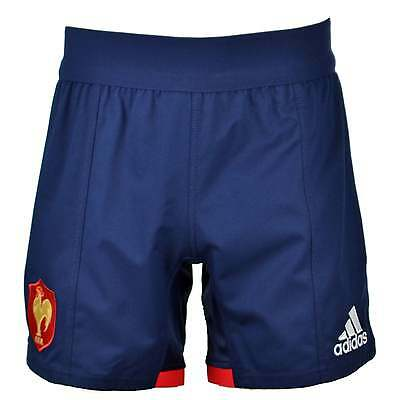 Adidas France Home Rugby Shorts - Blue