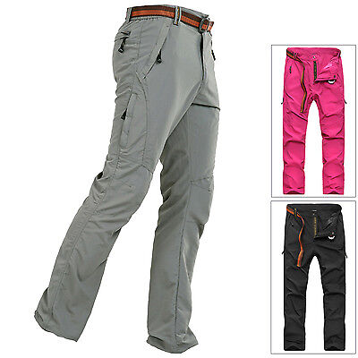 Women Anti-UV Quick Drying Stretch Trousers Outdoor Sports Hiking Pants