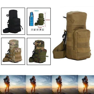 New Military Molle System Water Bottle Pouch Travel Bottle Kettle Carrier Bag