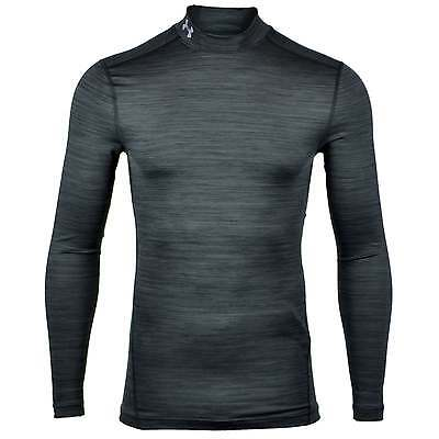 Under Armour ColdGear Armour Twist Compression Mock Baselayer - Black