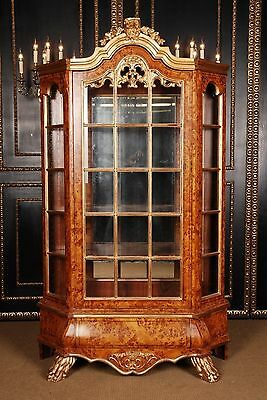 Fabulous Dutch Baroque Vitrine Handmade in Germany
