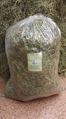 Fresh Meadow Hay Rabbit Guinea Pig Natural Food Bedding Free Post
