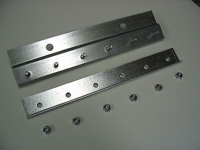 Pre-Studded Wall Mount Galvanized Strip Door Hardware 6ft length
