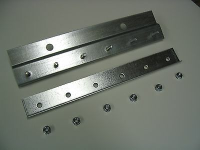 Pre-Studded Wall Mount Galvanized Strip Door Hardware 5ft length