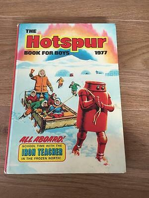 The Hotspur Book For Boys Annual 1977