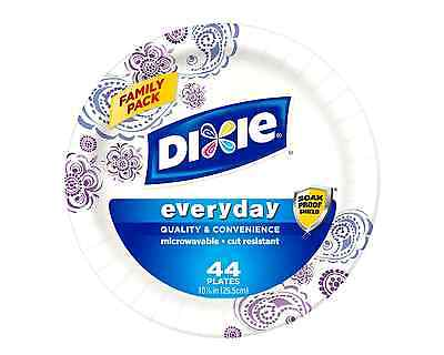 Dixie HD Paper Plates, 10 1/16 Inches, 220 Count (Packaging May Vary)
