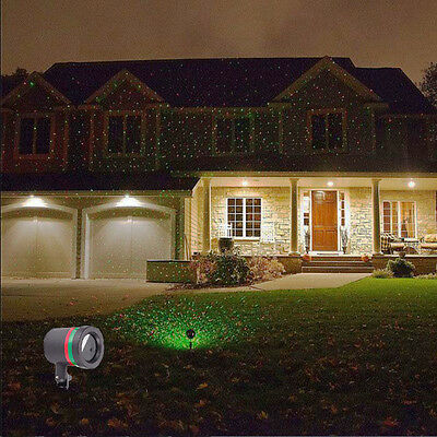Outdoor X-mas Red&Green Laser Projector R&G Landscape Christmas Party Xmax