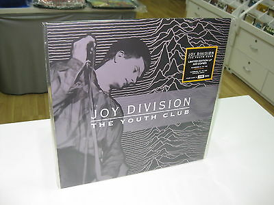 Joy Division Lp The Youth Club Limited Edition Gold Vinyl