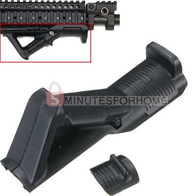 Hot Tactical Military Angled Triangular Fore Grip Finger Shelf Accessory