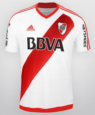 Great RIVER PLATE shirt 2016 Home *CLIMACOOL​* Adidas Brand New