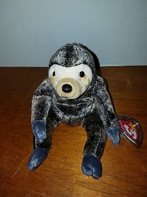 ad1d5f610d5 Ty Beanie Baby Slowpoke the Sloth RARE and RETIRED with Errors FREE SHIP!