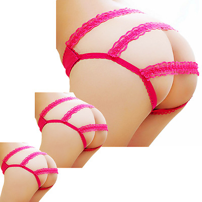 Women Lace Lingerie G-string Briefs Underwear Panties T string Thongs Knickers