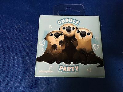 "Finding Dory - Otters - Cuddle Party 3"" Magnet - Disney Pixar"