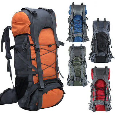 70L Waterproof Outdoor Camping Travel Hiking Bag Camping Backpack DayPack