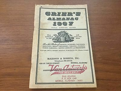 Mobile, Alabama. 1967 GRIER'S ALMANAC