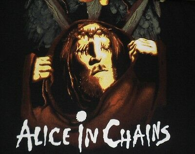 Concert T-Shirt Craze ALICE IN CHAINS Graphic T-Shirt BRAND NEW Artimonde Tee