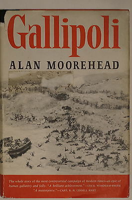 WW1 British Allies Gallipoli by Alan Moorehead Reference Book