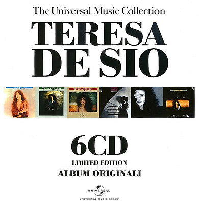 Teresa De Sio - The Universal Music Collection ( 6 CD - Compilation - Box Set )
