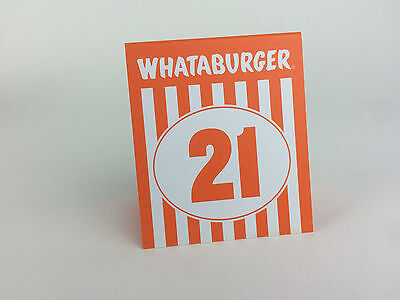 u201cI donu0027t know why we steal the numbers we just do.u201d & Hispanecdotes » Blog Archive » Je tu0027aime Whataburger