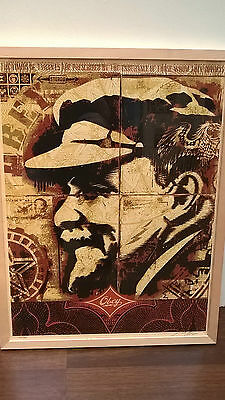 Shepard Fairey - Lenin record - ltd. to 300 stk - signed & numbered - Obey