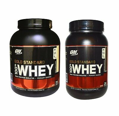 Optimum Nutrition Gold Standard 100% Whey Protein Isolate 2lb / 5lb / 8lb