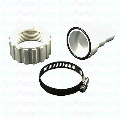 """Pool Spa Filter or Pump Union Adapter PVC Hose to 1.5"""" Union Fitting 400-9280"""