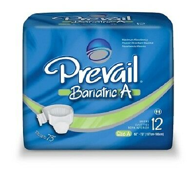 Prevail Specialty Brief, Bariatric A, 2X-Large, Heavy Abs., PV-017 - Case of 48