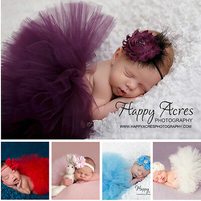 Lovely Baby Newborn Toddler Girls Cute Tutu Skirt Photo Prop Costume Outfit