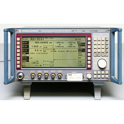 R&S Rohde & Schwarz CMS52 Radio Communication Test Set  1 GHz
