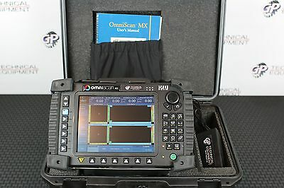Olympus OmniScan MX EC4 Eddy Current Phased Array Flaw Detector Ultrasonic NDT