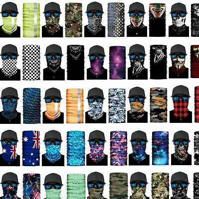 BANDANA DURAG: Face Shield Mask Fishing Headwear Biker Neck Gaiter Tube Scarf
