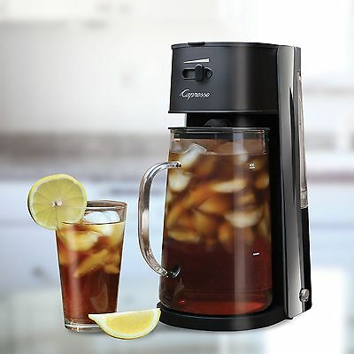 Capresso Iced Tea Maker, 80-ounce, Can Adjusts Brew Strength from Mild to Strong