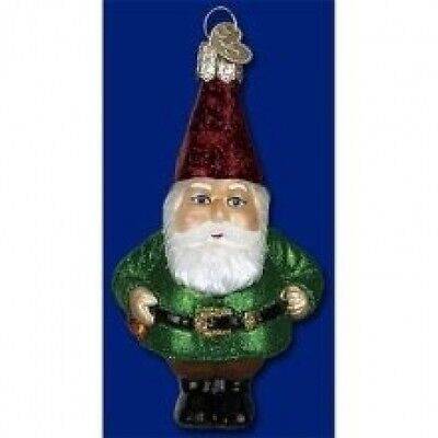 Old World Christmas Gnome Ornament. Shipping is Free