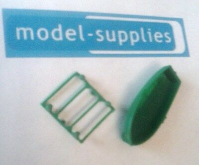 Matchbox reproduction 45B Ford Corsair green plastic boat and rack